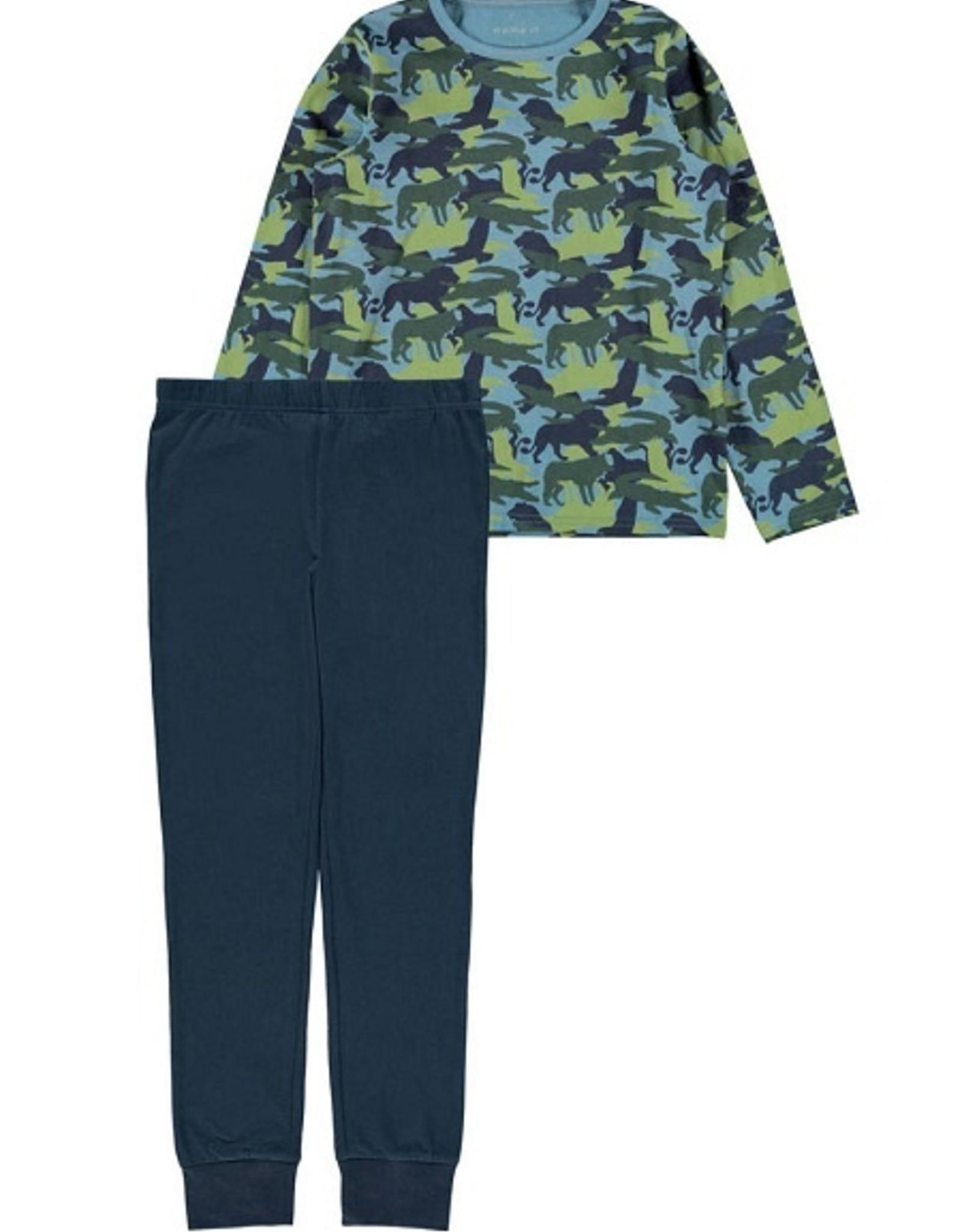 Name It Pyjama china blue wilde dieren