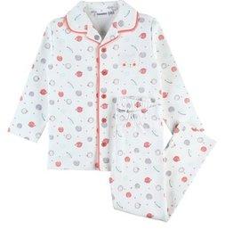 Noukie's Pyjama doorknoopmodel met allover print