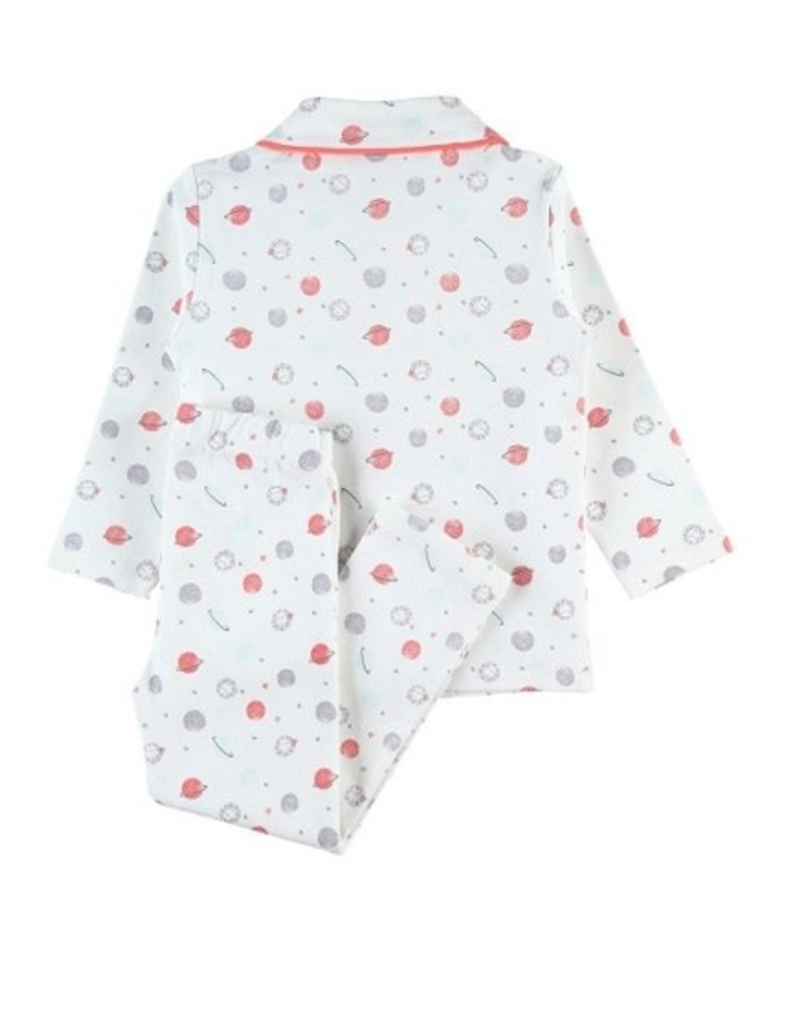 Noukie's Pyjama doorknoopmodel met allover print - meisjes
