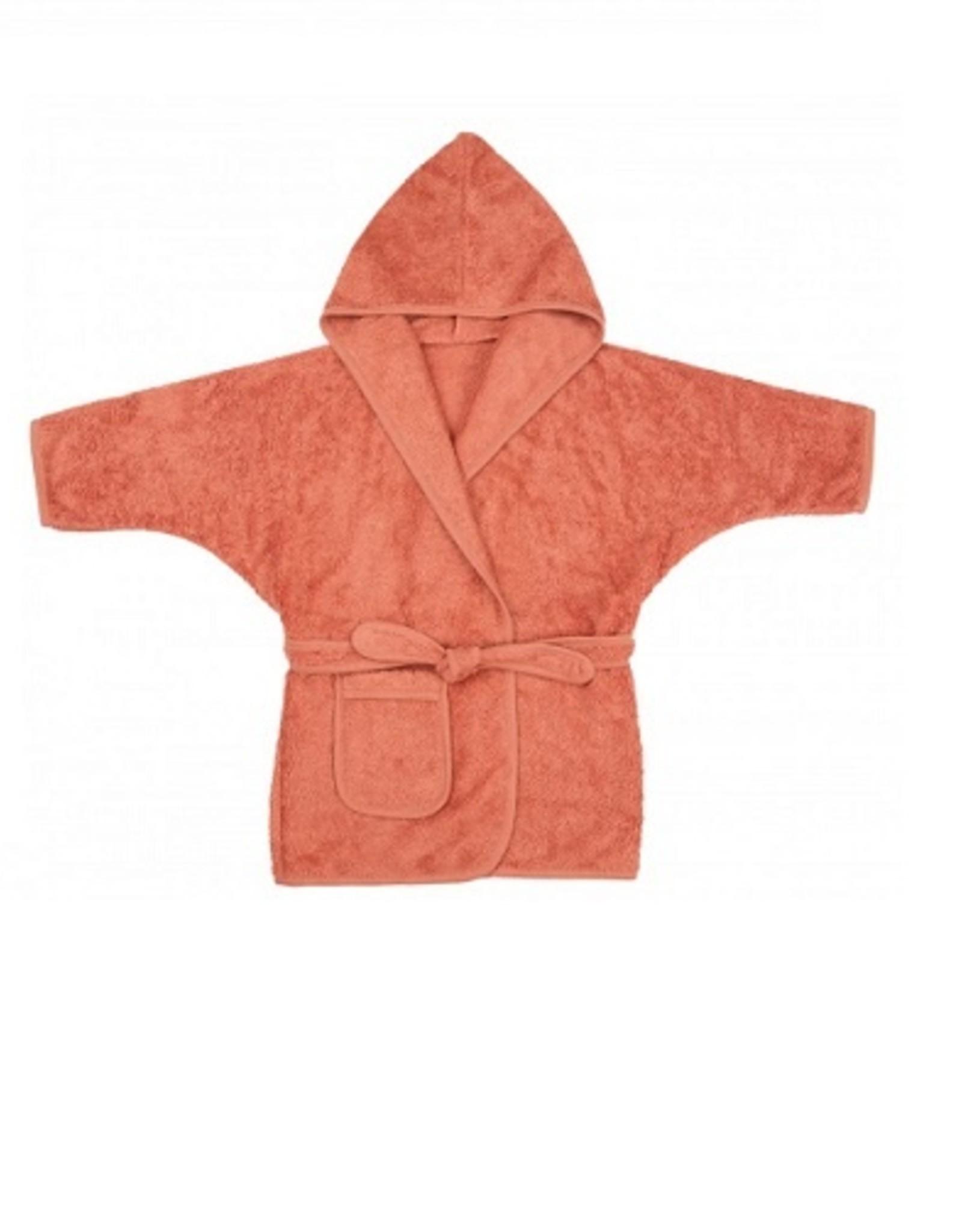 Timboo  Badjas Kids Bamboe Apricot blush