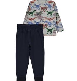 Name It Pyjama grijs/navy dino