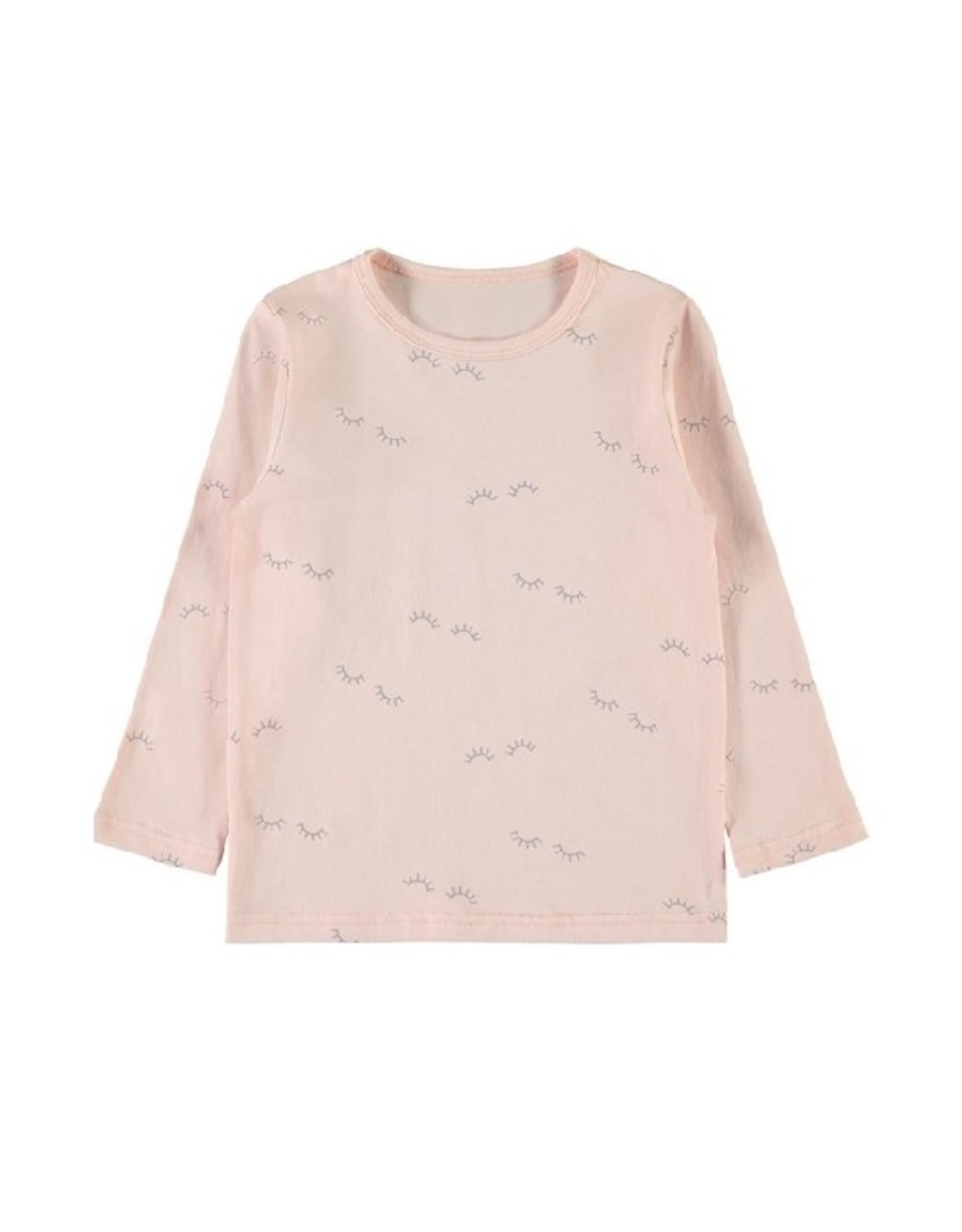 Name It M-Pyjama roos/grijs oogjes