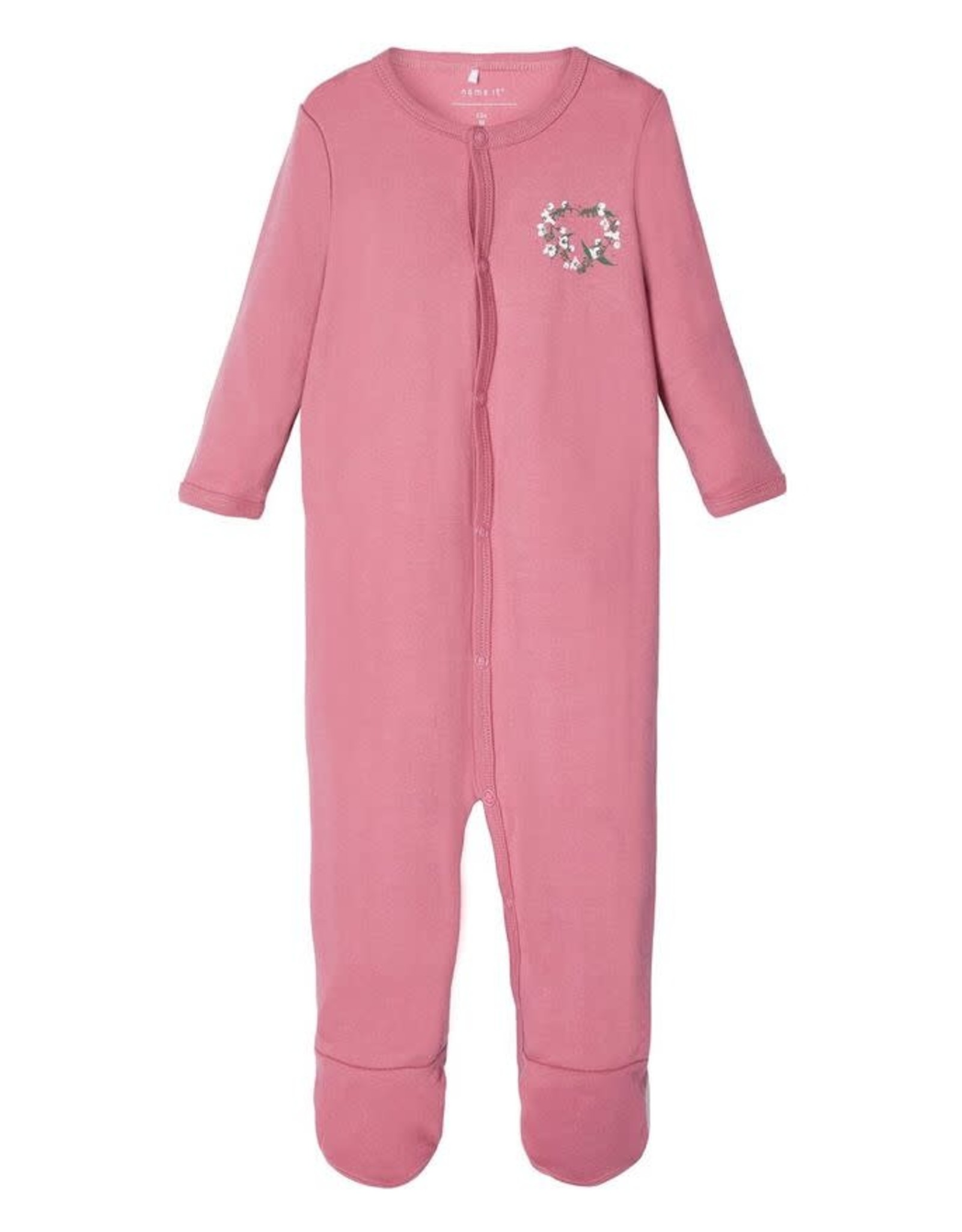 Name It Pyjama roos/ wit bloemetjes