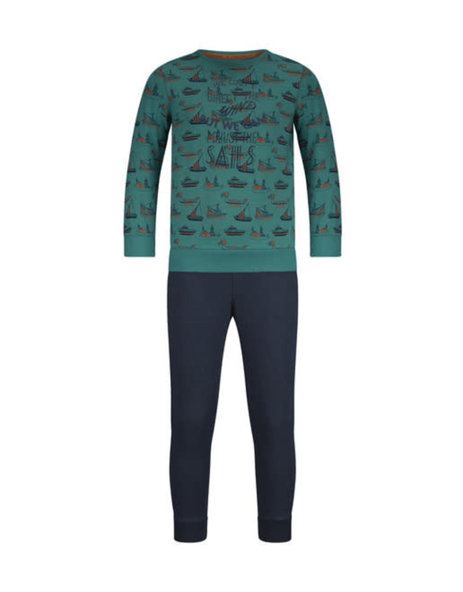 Charlie Choe J-Pyjama groen boten