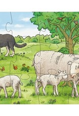 Haba 3 Puzzels Jonge boerderijdieren