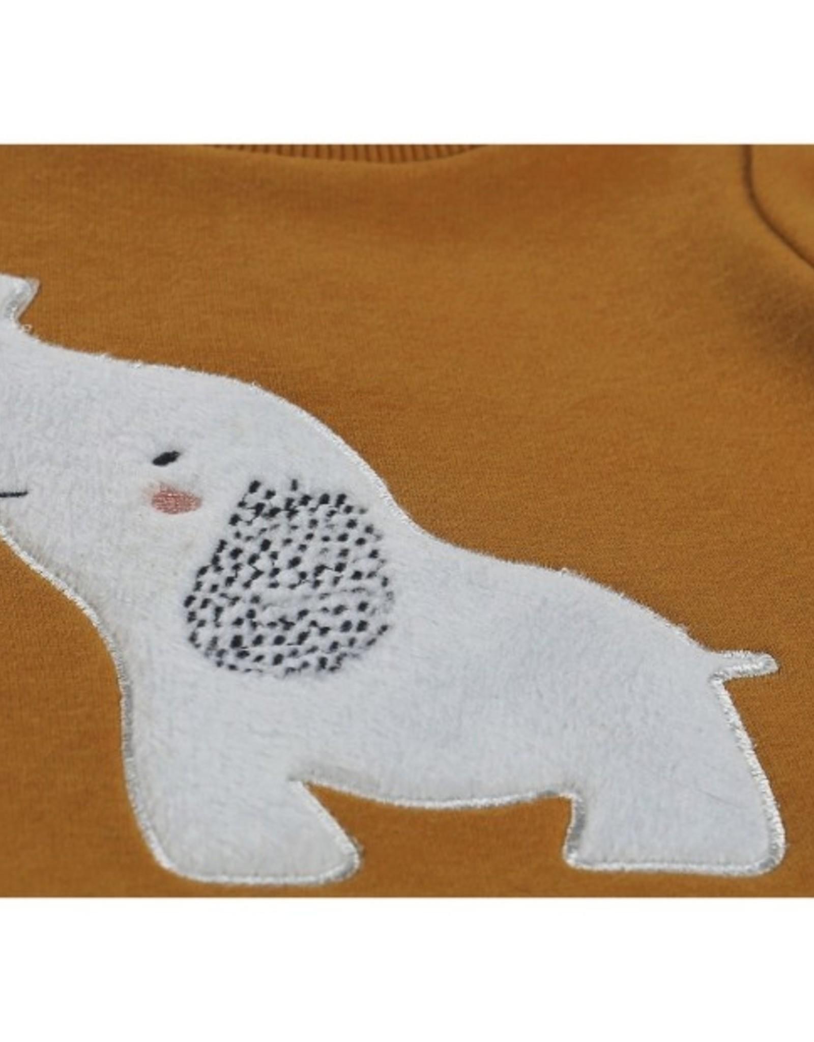 Noukie's 2-delige set sweater olifant/ broekje streep