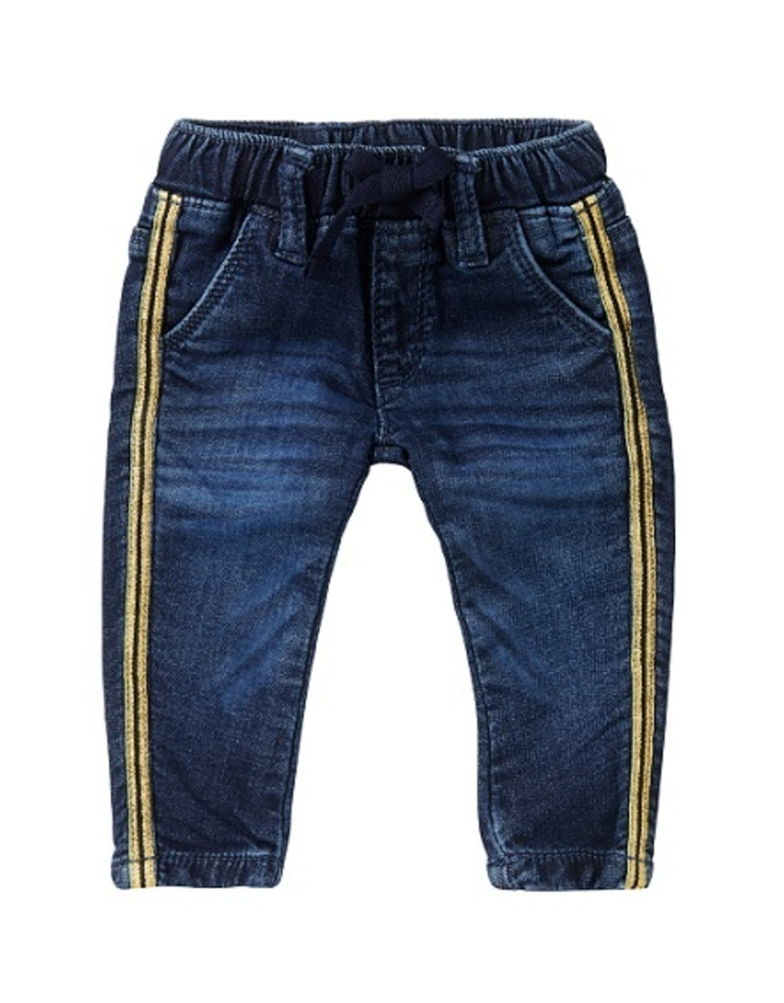 Noppies Jeansbroek meisjes  gouden streep