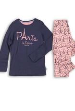 Charlie Choe Meisjespyjama Paris indigo blue