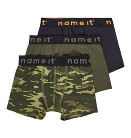 Name It Boxershorts 3st green camo