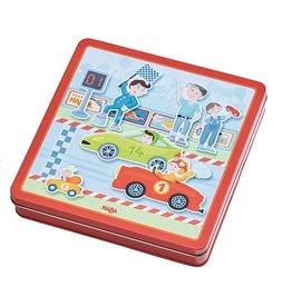Haba Haba Magneetdoos racewagens
