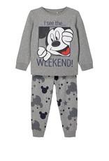 Name It Pyjama Mickey grijs of navy
