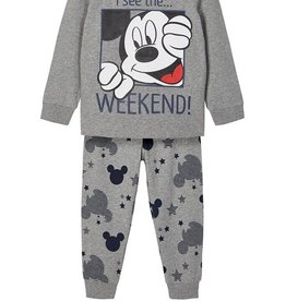Name It Pyjama Mickey grijs of navy