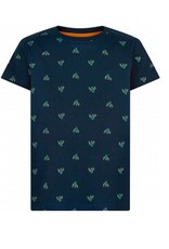 The New T-tshirt navy allover print cactus