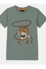 The New T-shirt  mint  print lasso