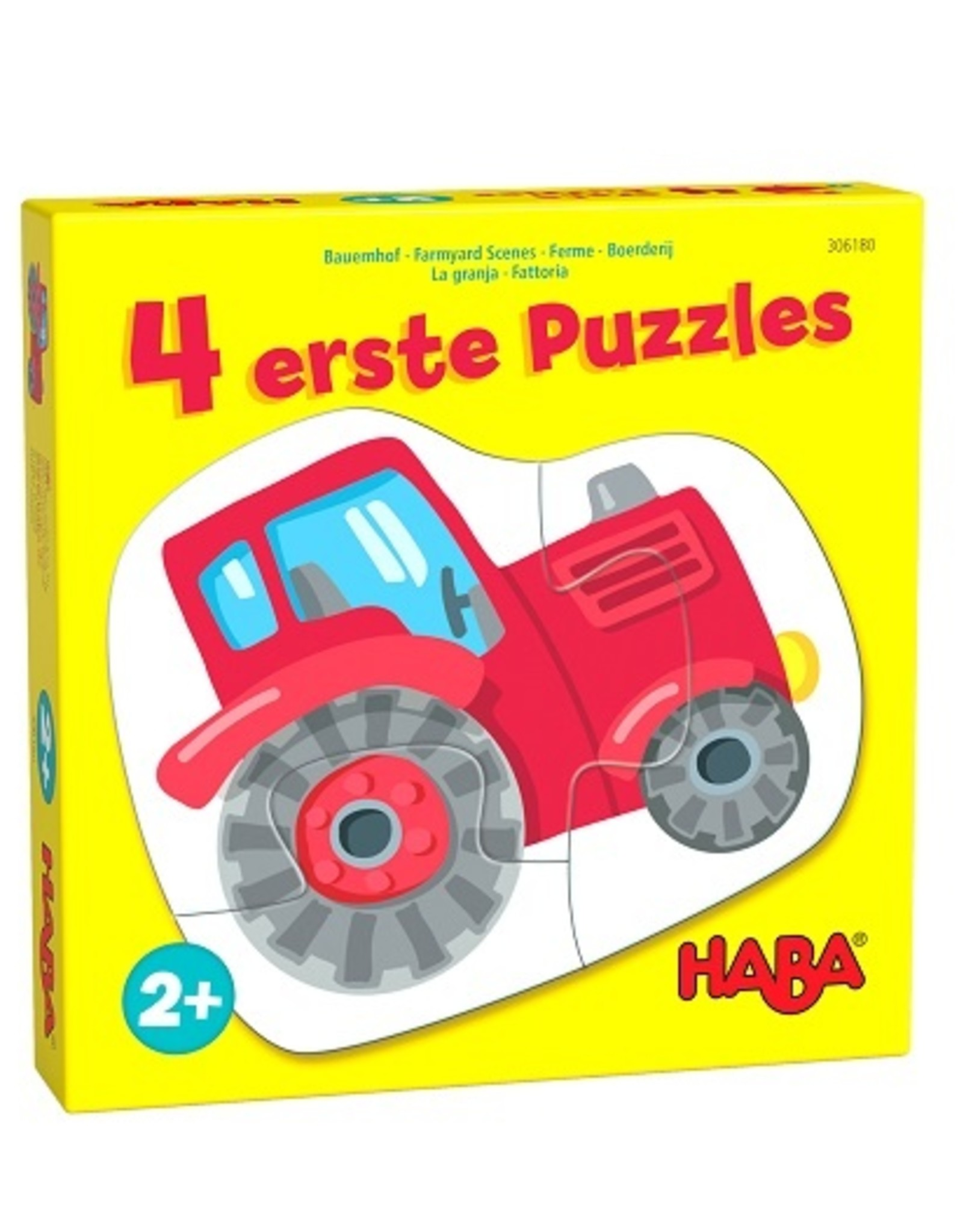 Haba 4 eerste puzzels