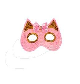 Souza Oogmasker met roze en goude glitters