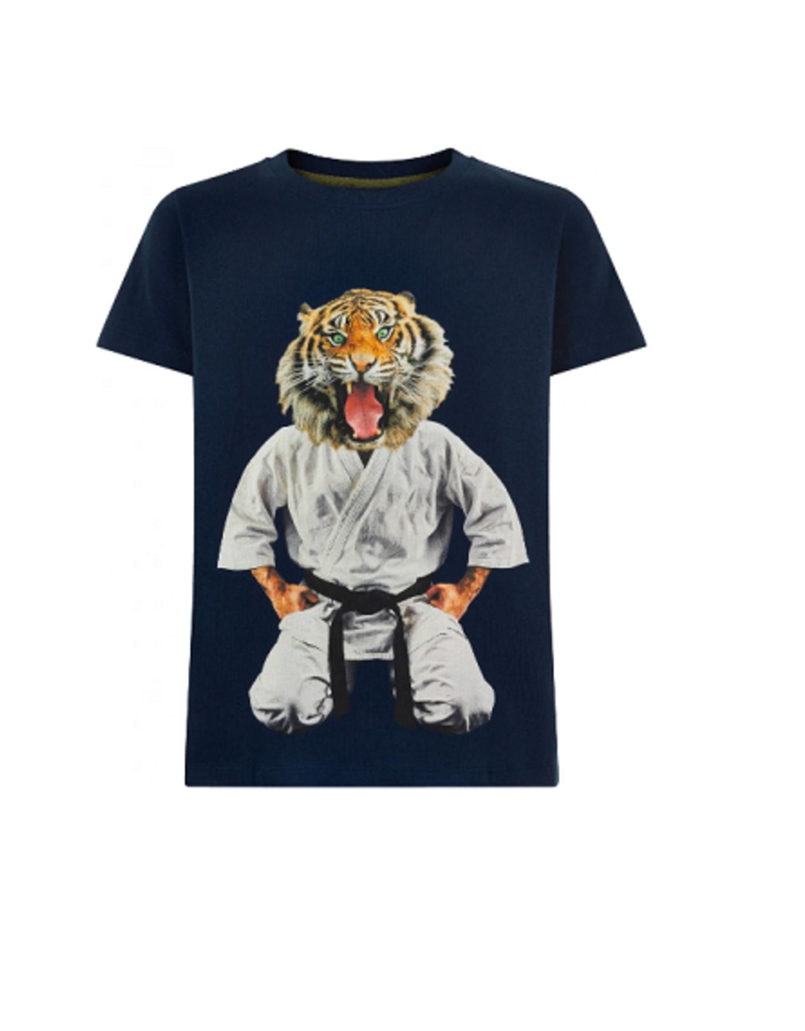 The New T-shirt navy judotijger