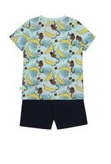 Charlie Choe Pyjama licht blauw jungle
