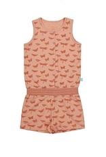 Charlie Choe  Pyjama jumpsuit roos allover print