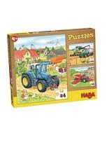 Haba 3 puzzels 24 stuks