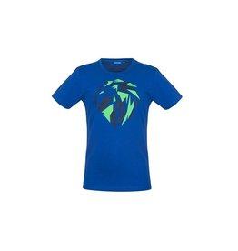 Someone T-shirt cobalt leeuw
