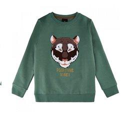 The New Sweater dark forest tijger