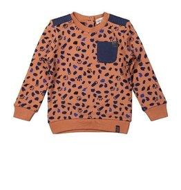 KokoNoko Sweater camel vlek