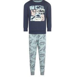 Charlie Choe Pyjama blauw dino's