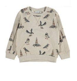 Name It Sweater allover print vogels