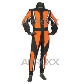 Arroxx Arroxx Level 2 overall  Zwart-oranje-wit Junior