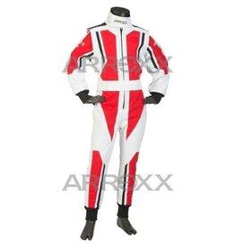 Arroxx Arroxx Level 2 overall  Wit - rood - zwart