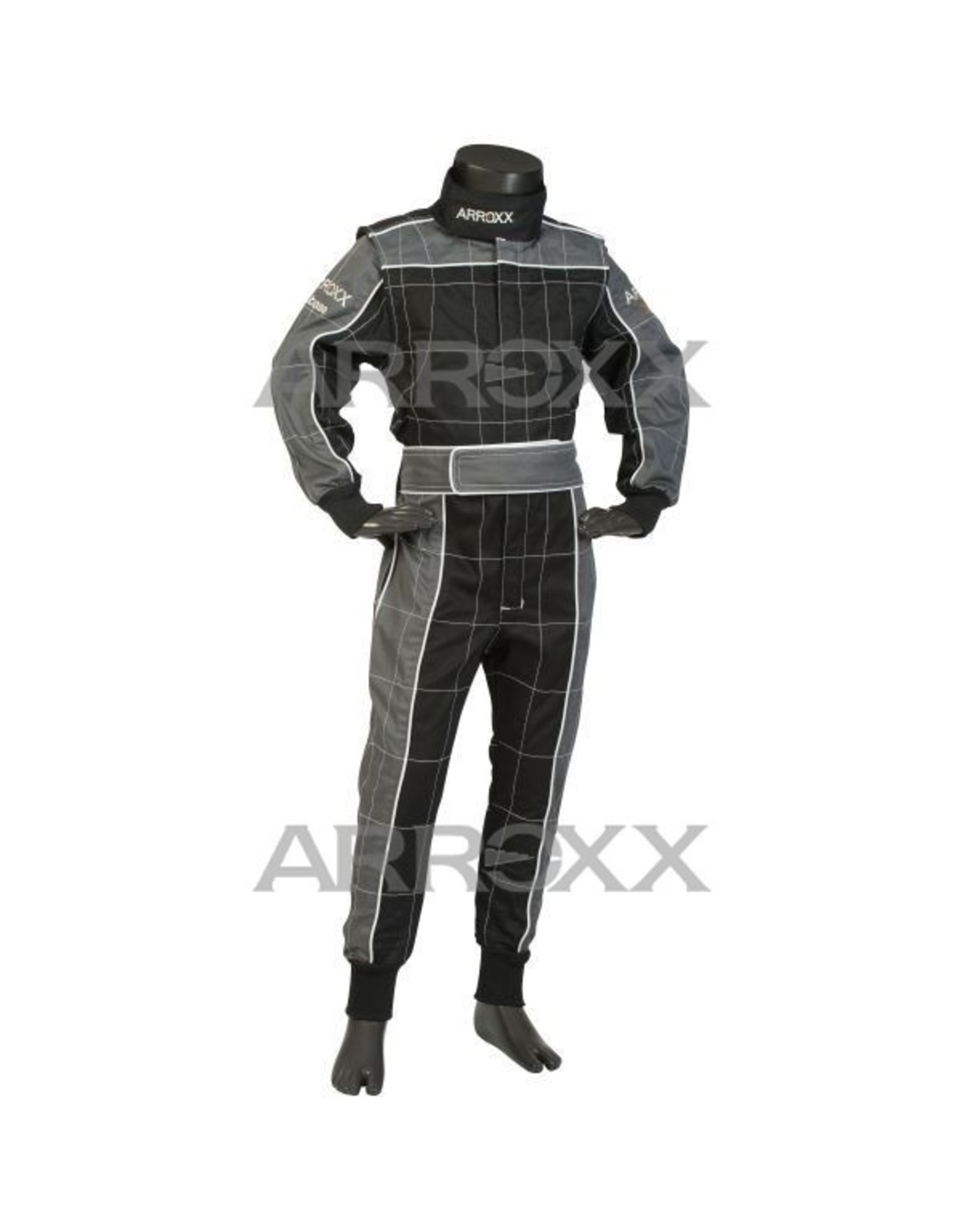 Arroxx Arroxx overall katoen  Zwart / grijs