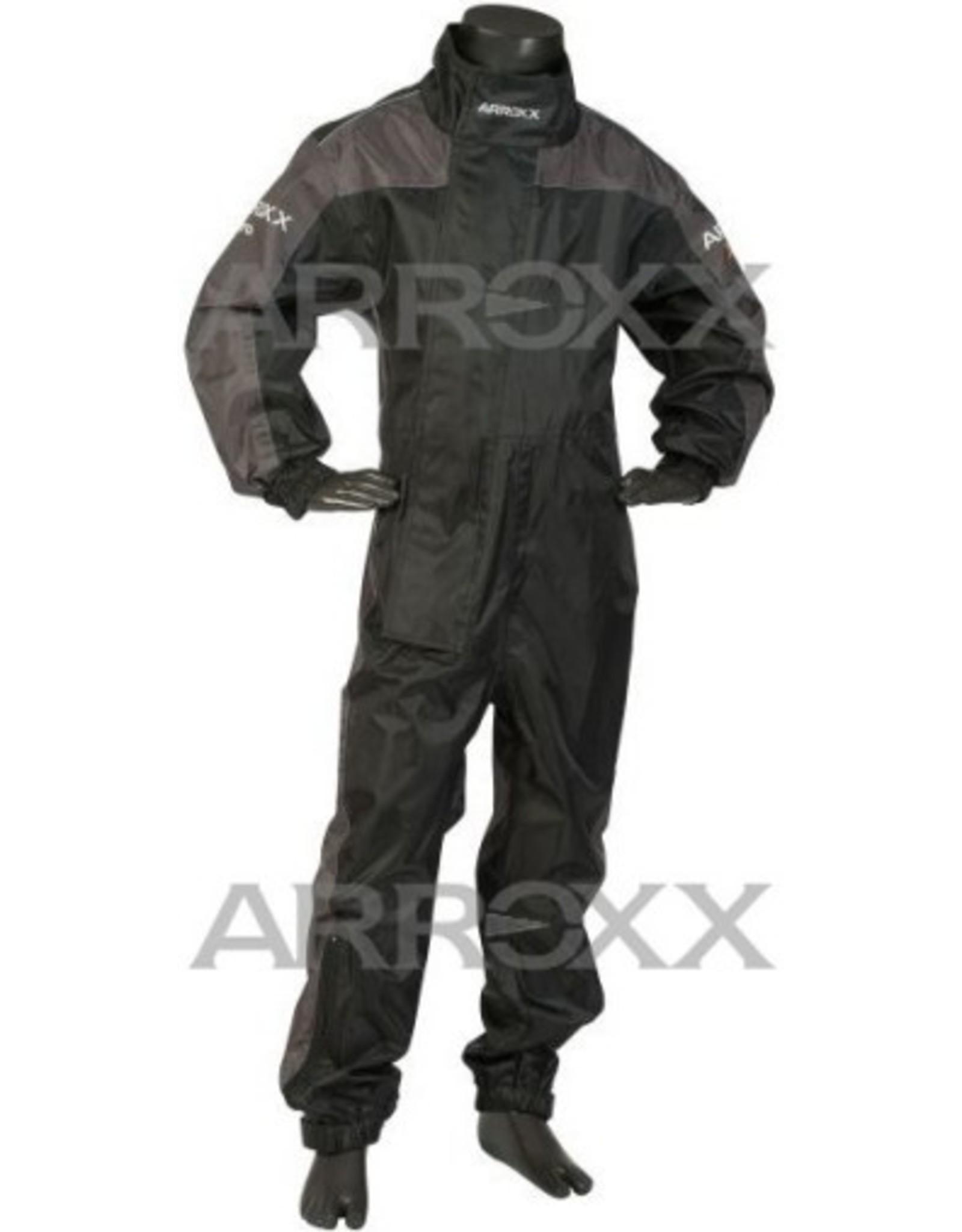 Arroxx Arroxx regenoverall Xpro Zwart / grijs