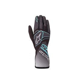 Alpinestars Alpinestars Tech 1-K glove zwart / turqoise