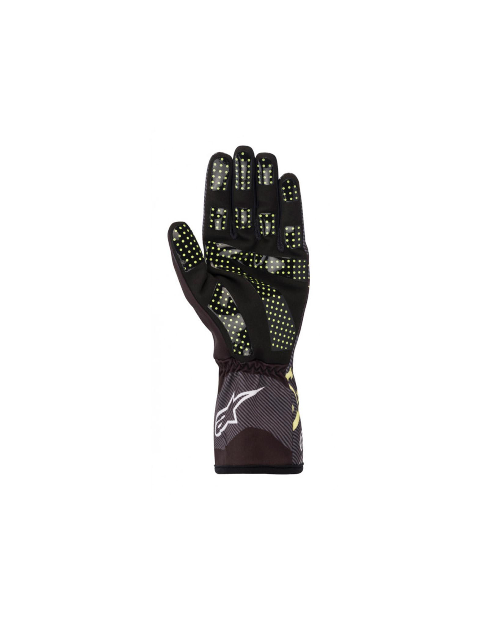 Alpinestars Alpinestars Tech 1-K V2 glove zwart / lime green