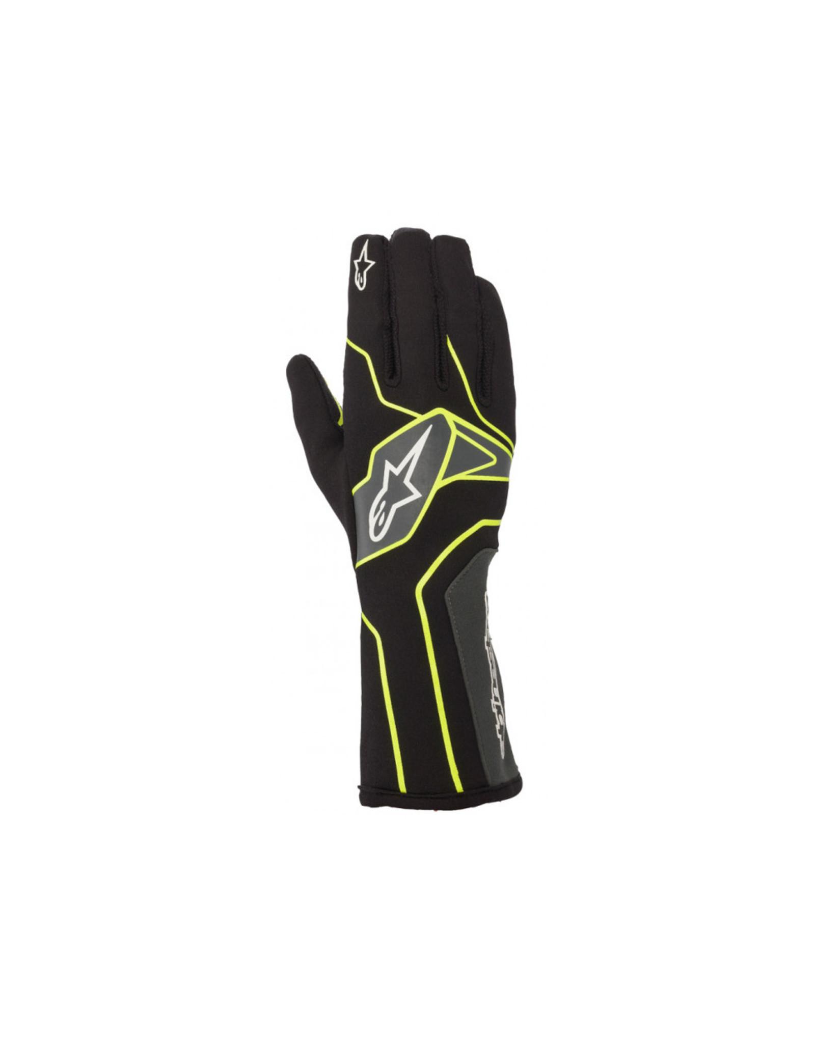 Alpinestars Alpinestars Tech 1-K V2 glove zwart / fluor geel