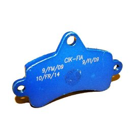 Top Kart Top kart mini remblok blauw (soft)