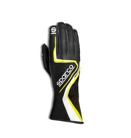 Sparco Sparco record kart handschoenen zwart/geel