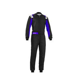 Sparco Sparco Rookie overall zwart/blauw