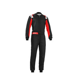 Sparco Sparco Rookie overall zwart/rood