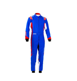 Sparco Sparco thunder overall kids blauw/rood