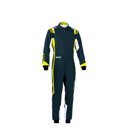 Sparco Sparco thunder overall kids grijs/geel