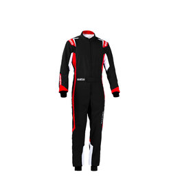 Sparco Sparco thunder overall kids zwart/rood