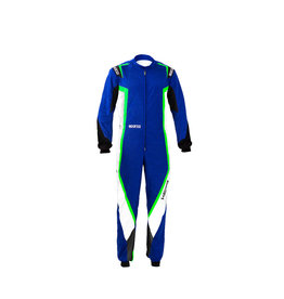 Sparco Sparco kerb overall kids blauw/groen