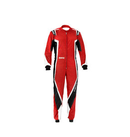 Sparco Sparco kerb overall kids rood/zwart