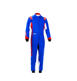 Sparco Sparco thunder overall Blauw/rood/wit