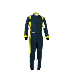 Sparco Sparco thunder overall grijs/geel