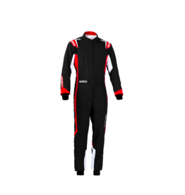 Sparco Sparco thunder overall zwart/rood