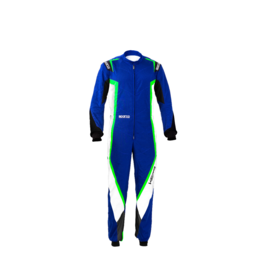 Sparco Sparco kerb overall blauw/groen