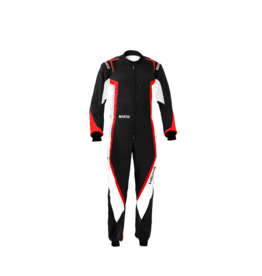 Sparco Sparco kerb overall zwart/rood/wit